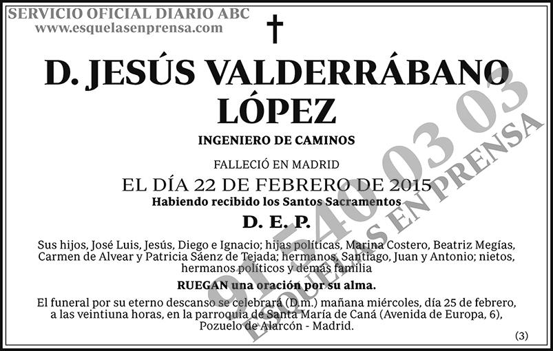 Jesús Valderábano López
